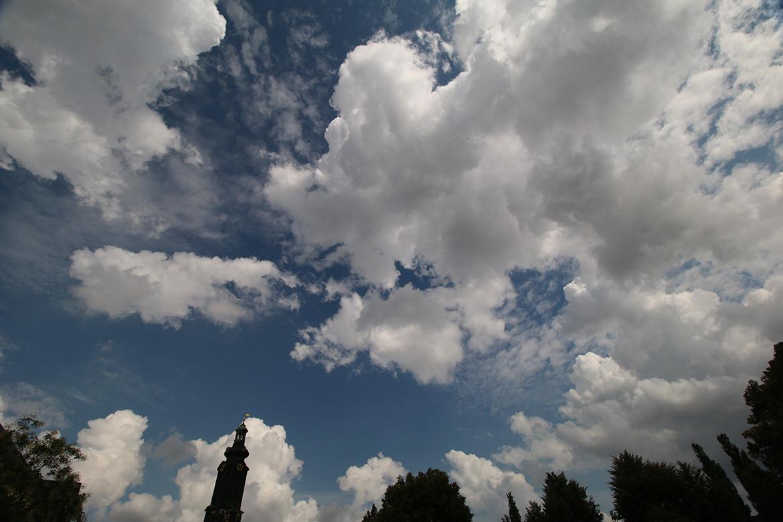 Wolkenhimmel über Weimar