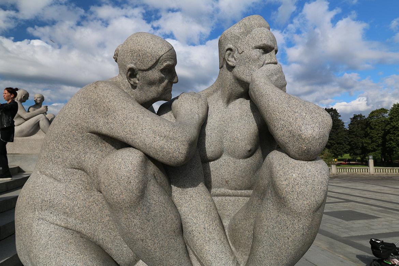 Skulptur im Vigeland-Park