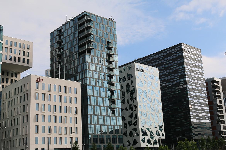 Bürogebäude in Oslo