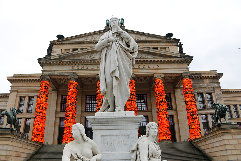 Konzerthaus Berlin und Schiller-Denkmal