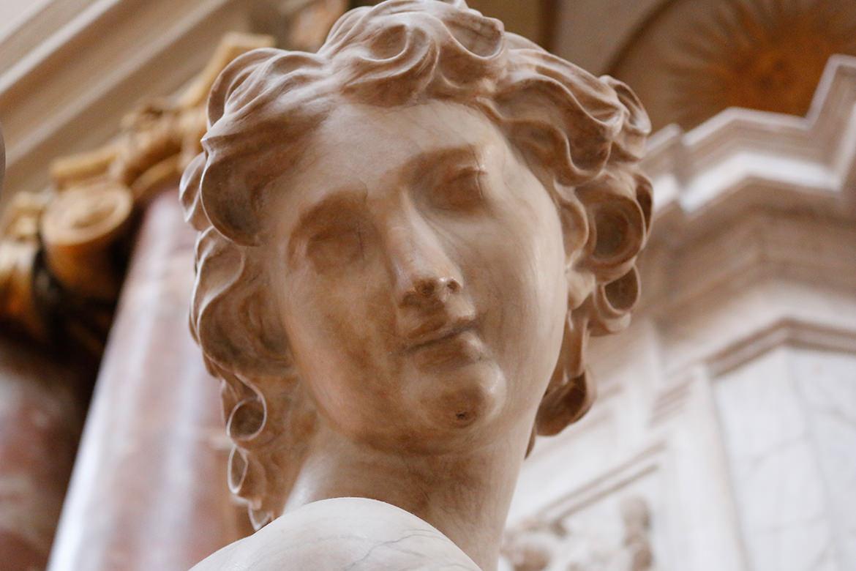 Statur in der Marienkirche