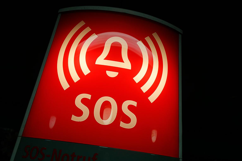 SOS-Schild