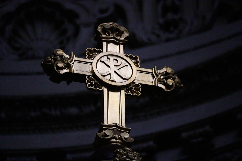 Kreuz im Berliner Dom