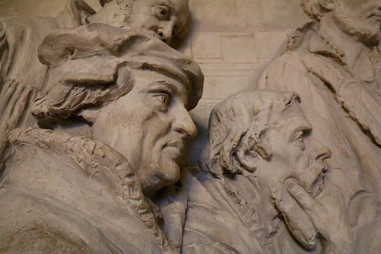 Reliefbild im Berliner Dom